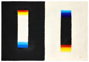 Heinz Mack: Nach einer Vorlage von Goethe, 1991